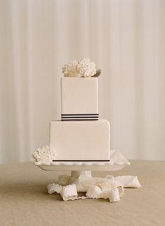 Modern square cake