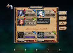 League of Heroes UI Design & Art on Behance