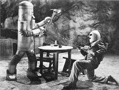 Pizarra del espectador: Carteles Cine Ciencia Ficción (20) - Zombies of the stratosphere (Republic Movie Serials 7) (1952)