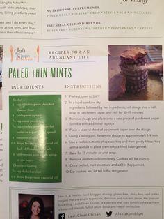 Paleo thin mints