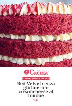 Red Velvet senza glutine con creamcheese al limone della nostra utente Chiara. Unisciti alla nostra Community ed invia le tue ricette!