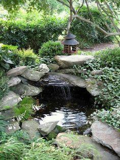 40 Amazing Backyard Pond Design Ideas Koi Backyard And Turtle - garden pond designs waterfalls