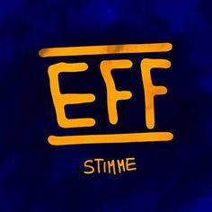 Habe Stimme von EFF mit Shazam gefunden. Hör's dir mal an: http://www.shazam.com/discover/track/300129562