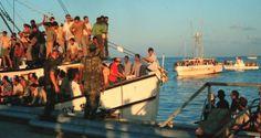 Más de 125 mil cubanos partieron desde el puerto habanero del Mariel rumbo a las costas de la Florida
