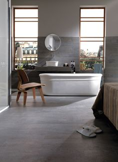 Parker Wood Porcelain #tiles from Porcelanosa. #flooring