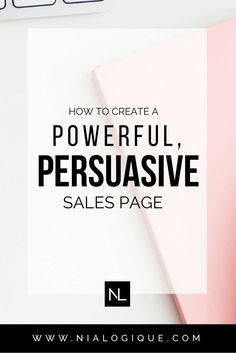 The Anatomy of a High-Converting Sales Page | Are you a blogger,  creative business owner, or infopreneur looking to launch their very first digital product? Well, this blog post teaches you how to cash in on your creation! Click through to learn how to write great sales copy in only 8 steps.
