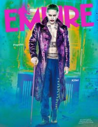 Suicide Squad Empire Magazine Cover with Joker