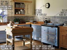 Duck Egg Blue Kitchen Colour Scheme Ideas