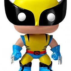 Funko POP Marvel: Wolverine From Classic Marvel, Wolverine, as a stylized POP vinyl from Funko! Stylized collectable stands 3 ¾ inches tall, perfect for any Classic Marvel fan! Collect and display all Classic Marvel POP! Marvel Wolverine, Marvel Comics, Funko Pop Marvel, Funko Pop Spiderman, Xmen, Lady Sif, Pop Figures, Vinyl Figures, Action Figures