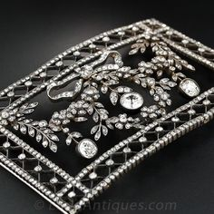 Belle Époque Diamond Stomacher or Choker