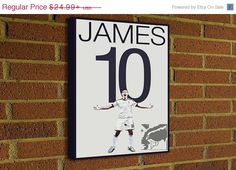 James Rodriguez Canvas Print  #soccer #football #homedecor #g17 #futbol #decor #art #print #poster