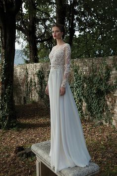 Vintage-inspired wedding dress. Breath-taking, if we do say so, ourselves! {Berta Bridal}