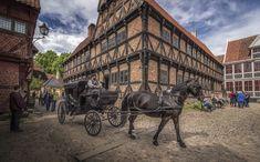 (The Old Town) in Aarhus, Denmark.