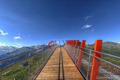Glocknerblick am Stubnerkogel in Bad Gastein Visit Austria, Heart Of Europe, Salzburg, Summer Travel, Railroad Tracks, Summer Time, Germany, Hiking, Holiday