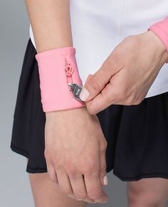 Must-Have Products for Your Workout: FOR THE OUTDOOR ENTHUSIAST: Keep your essentials from getting lost with these cool cuffs. Sweat Cuff, $18; http://lululemon.com