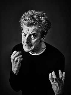 Peter Capaldi, by Andy Gotts Doctor Who Cast, 12th Doctor, Twelfth Doctor, Andy Gotts, Danny Pudi, Best Sci Fi Shows, The Lovely Bones, Doctor Picture, David Tennant Doctor Who