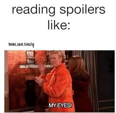 If you're reading a series, you avoid online spoilers at all costs: