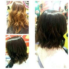 #LongBob #ColourChange #Waves Long Bob, Waves, Long Hair Styles, Color, Beauty, Long Stacked Haircuts, Long Hairstyle, Colour, Long Haircuts