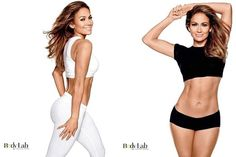 Jennifer Lopez flaunts flat abs after 10-pound #weightloss on a #gluten-free, low carb #vegan diet.