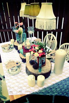 Wedding day 'Tablescape' inspiration, by the Fine & Funky Events Company...