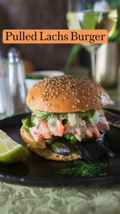 Burger Co, Grilled Salmon, Snacks, Lunches And Dinners, Salmon Burgers, Food Porn, Chicken, Eat, Ethnic Recipes