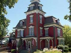 1857 Red 2nd French Empire in Port Austin, MI