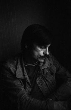 Andrei Tarkovsky on the set of Stalker.