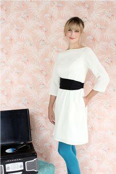 The Peony Dress. Beginner sewing pattern.