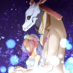 Mahou Tsukai no Yome (The Ancient Magus' Bride) Image - Zerochan Anime Image Board Otaku, Kore Yamazaki, Sailor Moon, Best Romance Anime, Elias Ainsworth, Chise Hatori, The Ancient Magus Bride, Fanart, Cute Couple Pictures