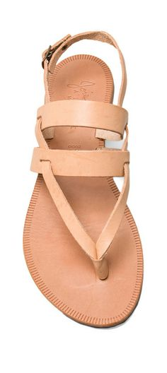 Leather sandals...would probably get a different colour..something bright.