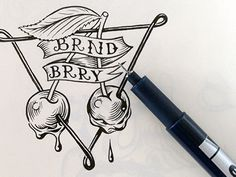 Brandberry_stickers  #logo #design #inspiration