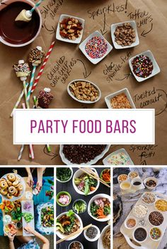 Loving these build your own bar food station ideas! Thanks for sharing!