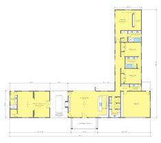 Ranch Style House Plan - 3 Beds 3.5 Baths 3068 Sq/Ft Plan #888-17 Floor Plan - Main Floor Plan - Houseplans.com