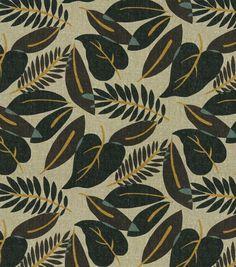 Home Decor Print Fabric-Robert Allen Fresh Leaf-Terrain