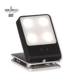 LAMPADA DA VIAGGIO A LED - JOURNEY TRAVEL LIGHT MOLESKINE COLORE NERO
