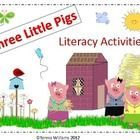 Creative Writing and other activities to go with the story The Three Little Pigs. There is also a craftivity!