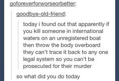 14 Tumblr Users Who May Or May Not Be Planning A Murder  CLICK ON THE LINK