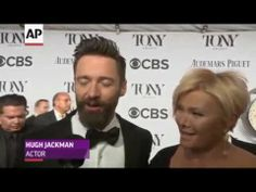 Tonys 2014:  Hugh Jackman Walk Tonys 2014 Red Carpet | RAW VIDEO