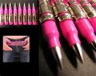 pink ammo..what next? I love pink hunting gear as much as the next girly redneck huntress but come on ya'll!
