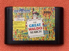 Great Waldo Search Sega Genesis Game Super Fast! 592