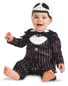 Nightmare Before Christmas Jack Skellington Prestige Infant's Costume.