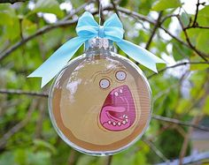 Rick and Morty Planet DCBL's Screaming Sun - Christmas Tree Ornament
