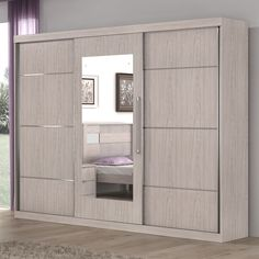 Para quem busca por móveis modernos, o guarda-roupa 3 portas de correr tem tudo para garantir comodidade para os usuários, pois cada modelo é projetado com