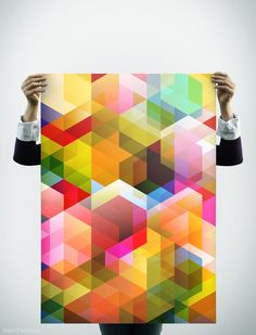 Poster Design needed, Colorful, Pattern and Shapes by AdamPalethorpe