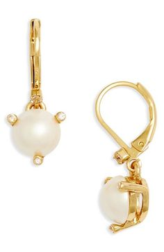 kate spade new york 'rise and shine' lever back earrings available at #Nordstrom
