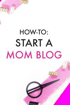 BLOG. Are you a mom who wants to start a BLOG? Learn how to build a blog using this easy step by step guide. Click the PIN to learn!