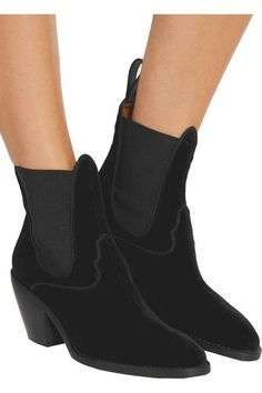 Chloé - Velvet Ankle Boots - SALE20 at Checkout for an extra 20% off