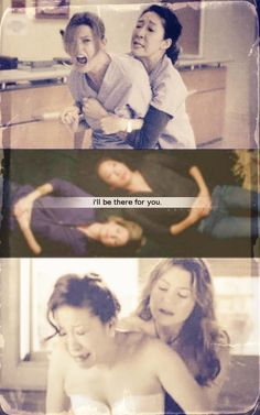 ' I'll be there for you ' #GreysAnatomy
