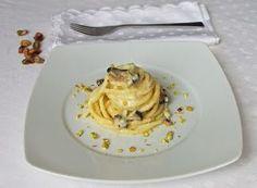 Denny Chef Blog: Troccoli con fonduta di caciocavallo e funghi cardoncelli