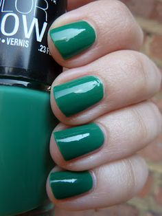 Short 'n Chic: Maybelline Color Show Tenacious Teal